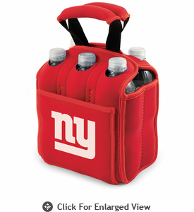 Picnic Time NFL - Red Six Pack New York Giants