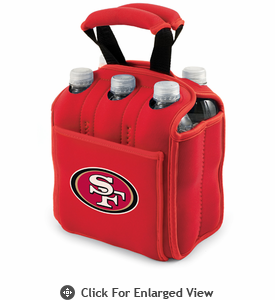 Picnic Time NFL - Red Six Pack San Francisco 49ers