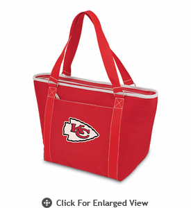 Picnic Time NFL - Red Topanga Cooler Tote Kansas City Chiefs