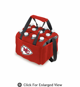Picnic Time NFL - Red Twelve Pack Kansas City Chiefs