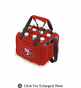 Picnic Time NFL - Red Twelve Pack San Francisco 49ers