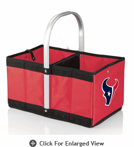 Picnic Time NFL - Red Urban Basket Houston Texans