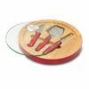 Picnic Time NFL - Red Ventana Cheese Board Kansas City Chiefs