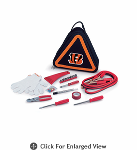 Picnic Time NFL - Roadside Emergency Kit Cincinnati Bengals