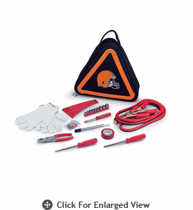 Picnic Time NFL - Roadside Emergency Kit Cleveland Browns