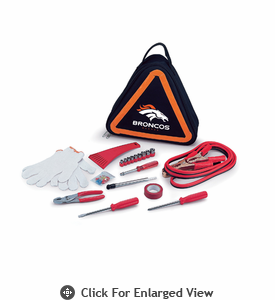 Picnic Time NFL - Roadside Emergency Kit Denver Broncos