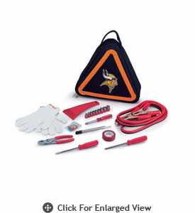 Picnic Time NFL - Roadside Emergency Kit Minnesota Vikings