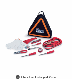 Picnic Time NFL - Roadside Emergency Kit New England Patriots