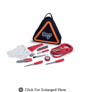 Picnic Time NFL - Roadside Emergency Kit St. Louis Rams