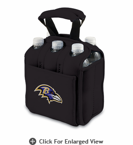 Picnic Time NFL - Six Pack Baltimore Ravens