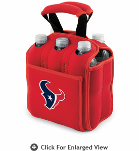 Picnic Time NFL - Six Pack Houston Texans