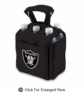 Picnic Time NFL - Six Pack Oakland Raiders
