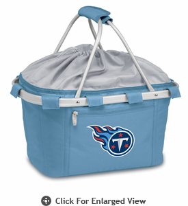Picnic Time NFL - Sky Blue Metro Basket Tennessee Titans