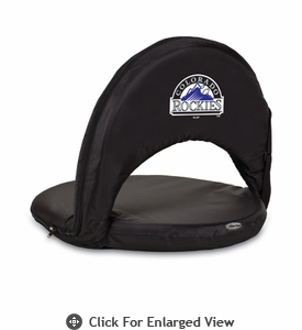 Picnic Time Oniva Seat - Black Colorado Rockies