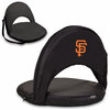 Picnic Time Oniva Seat - Black San Francisco Giants