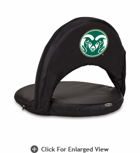Picnic Time Oniva Seat Sport - Black Colorado State Rams