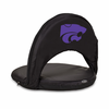 Picnic Time Oniva Seat Sport - Black Kansas State Wildcats