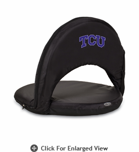 Picnic Time Oniva Seat Sport - Black TCU Horned Frogs