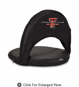 Picnic Time Oniva Seat Sport - Black Texas Tech Red Raiders