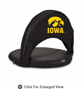 Picnic Time Oniva Seat Sport - Black University of Iowa Hawkeyes