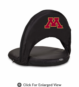 Picnic Time Oniva Seat Sport - Black University of Minnesota Golden Gophers