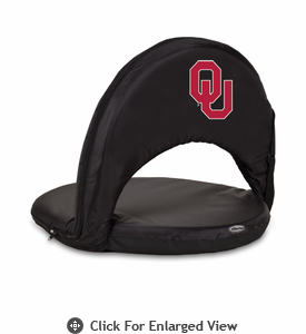 Picnic Time Oniva Seat Sport - Black University of Oklahoma Sooners