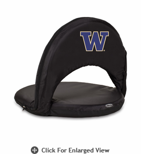 Picnic Time Oniva Seat Sport - Black University of Washington Huskies