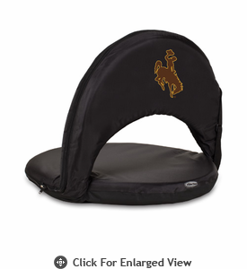 Picnic Time Oniva Seat Sport - Black University of Wyoming Cowboys
