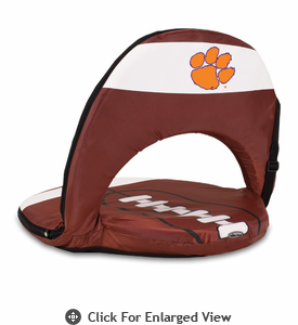 Picnic Time Oniva Seat Sport Football  Clemson University Tigers
