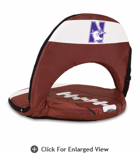 Picnic Time Oniva Seat Sport Football  Northwestern University Wildcats