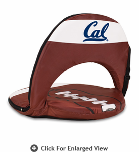 Picnic Time Oniva Seat Sport Football  UC Berkeley Golden Bears