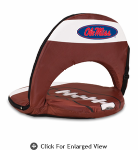 Picnic Time Oniva Seat Sport Football  University of Mississippi Rebels