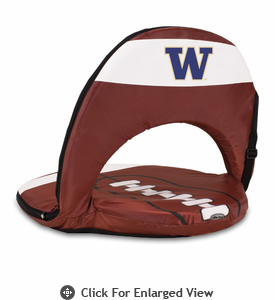 Picnic Time Oniva Seat Sport Football  University of Washington Huskies
