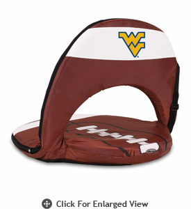Picnic Time Oniva Seat Sport Football  West Virginia University Mountaineers