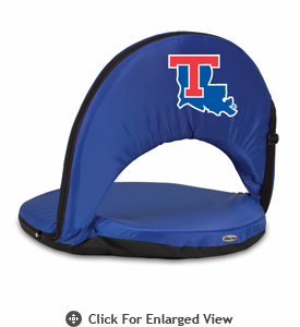 Picnic Time Oniva Seat Sport - Navy Blue Louisiana Tech Bulldogs