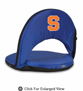 Picnic Time Oniva Seat Sport - Navy Blue Syracuse University Orange