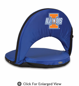 Picnic Time Oniva Seat Sport - Navy Blue University of Illinois Fighting Illini