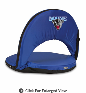 Picnic Time Oniva Seat Sport - Navy Blue University of Maine Black Bears