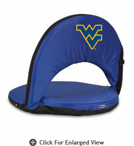 Picnic Time Oniva Seat Sport - Navy Blue West Virginia University Mountaineers