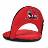 Picnic Time Oniva Seat Sport - Red Miami University Redhawks