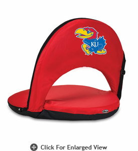 Picnic Time Oniva Seat Sport - Red University of Kansas Jayhawks