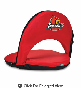Picnic Time Oniva Seat Sport - Red University of Louisville Cardinals