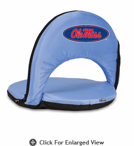 Picnic Time Oniva Seat Sport - Sky Blue University of Mississippi Rebels