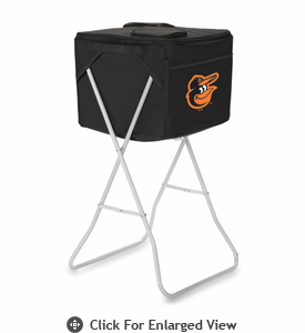 Picnic Time Party Cube - Black Baltimore Orioles