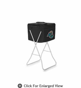Picnic Time Party Cube - Black Coastal Carolina Chanticleers