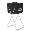 Picnic Time Party Cube - Black Colorado Rockies