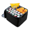 Picnic Time Party Cube - Black Kansas State Wildcats