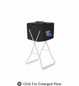 Picnic Time Party Cube - Black Louisiana Tech Bulldogs