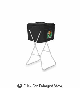 Picnic Time Party Cube - Black Marshall University Thundering Herd