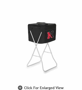 Picnic Time Party Cube - Black Northeastern University Huskies